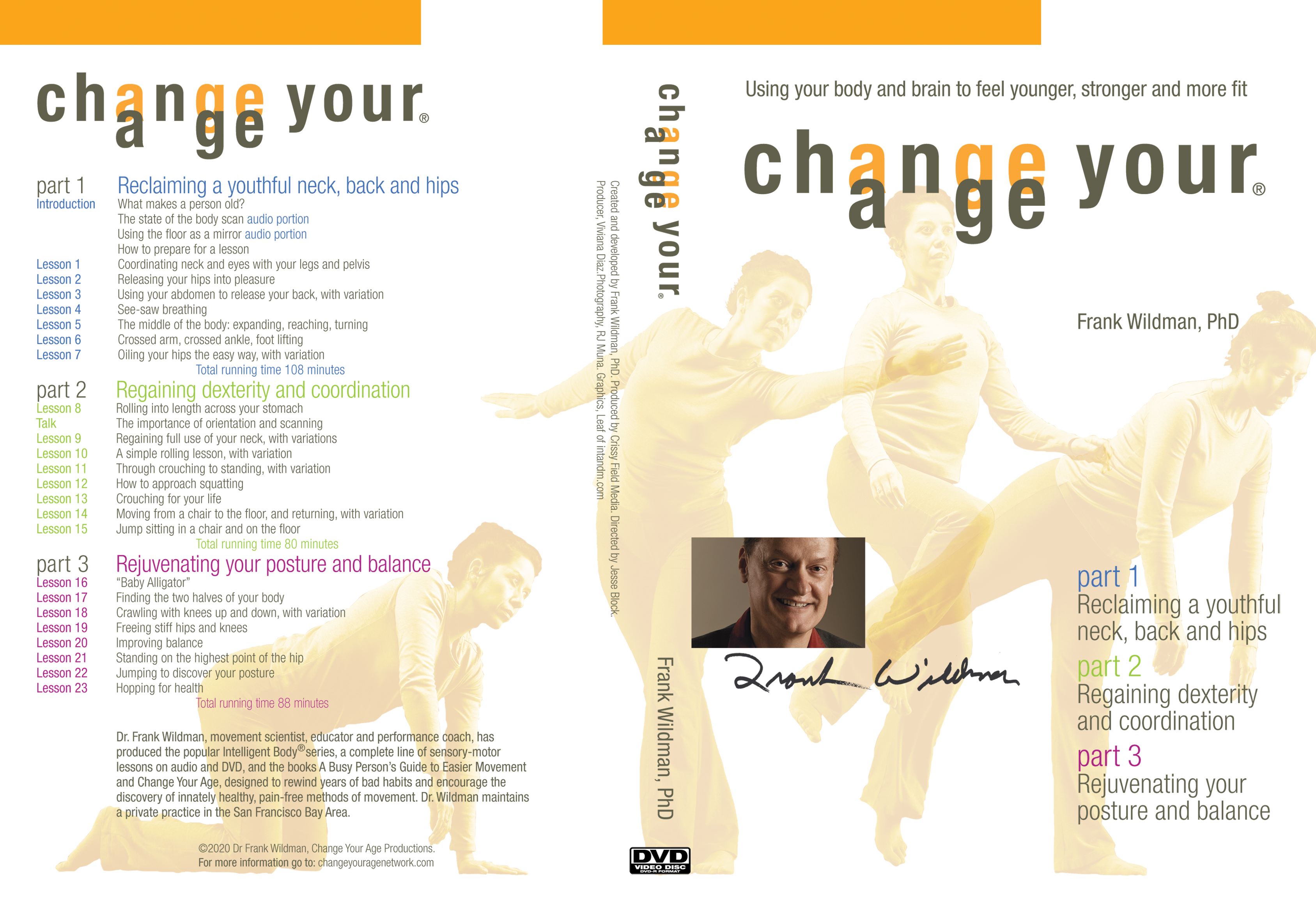 Change Your Age DVD cover